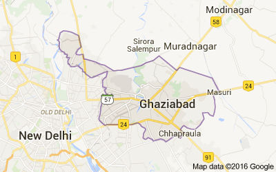Ghaziabad District Population Religion Uttar Pradesh Ghaziabad - Ghaziabad map
