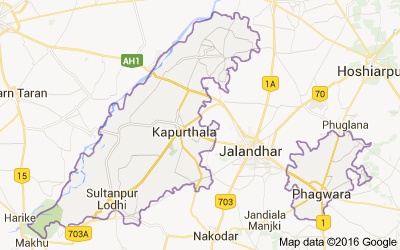Tehsils in Kapurthala district, Punjab - Census India