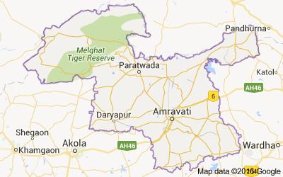 Amravati District Population Religion - Maharashtra