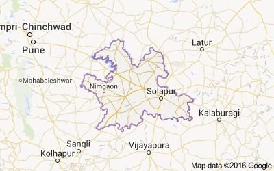 Talukas In Solapur District Maharashtra Census India - Solapur map