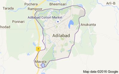 Mandals in Adilabad district, Andhra Pradesh - Census India
