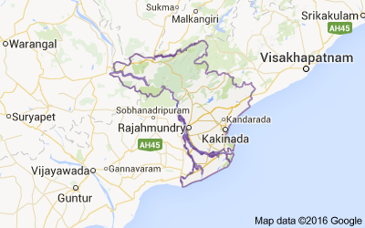 East Godavari district, Andhra Pradesh