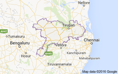 Mandals in Chittoor district, Andhra Pradesh - Census India