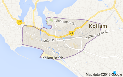 Kollam district, Kerala