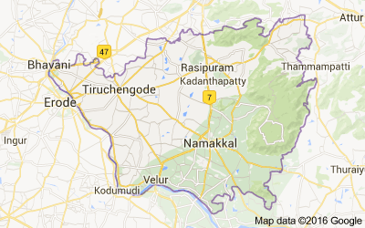 Namakkal district, Tamil Nadu