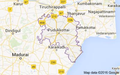 Talukas in Pudukkottai district, Tamil Nadu - Census India